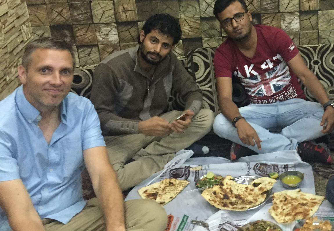 Eating overseas refugees